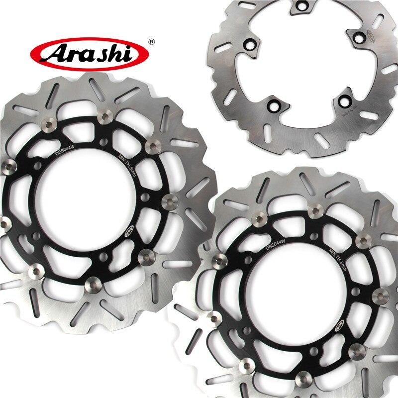 Arashi 1 set Bandit 1250 CNC Avant et Arrière De Frein Disque De Frein Rotors Pour Suzuki BANDIT 1250 GSF1250 2007 2008 2009 2010 2011