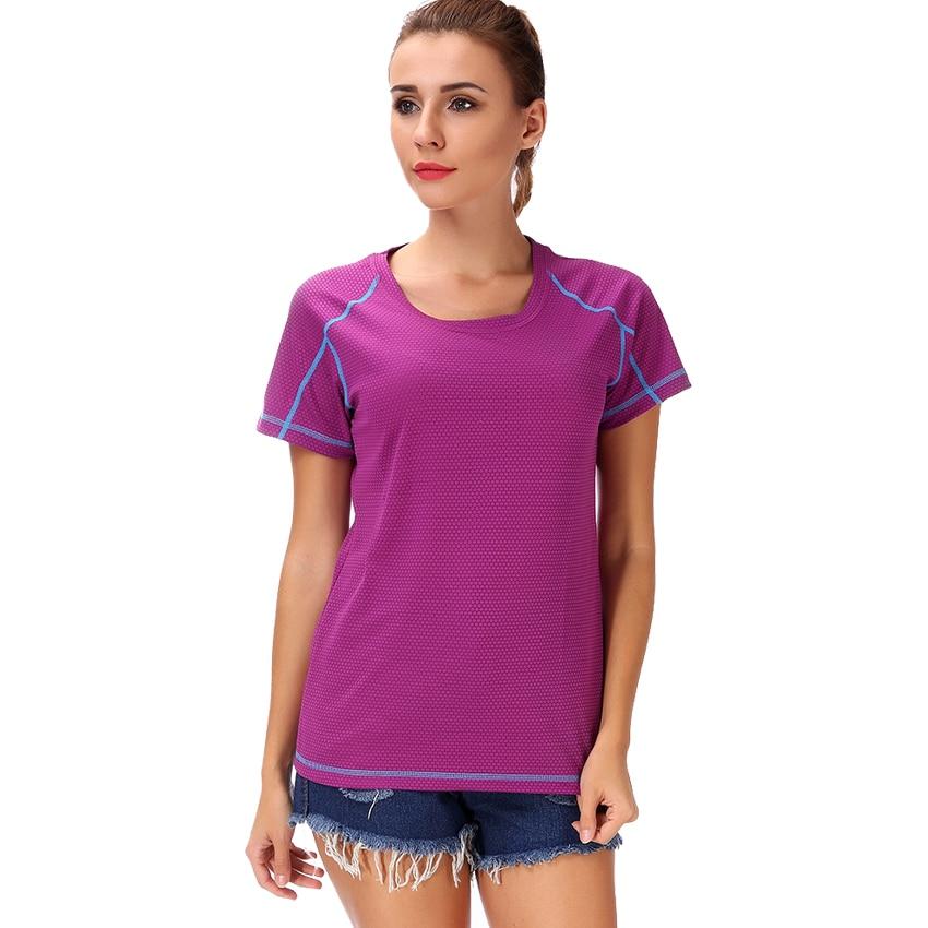 LELINTA Women Quick Dry Sport Yoga Shirt Short Sleeve