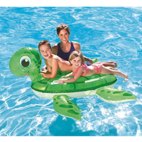 140 140cm Kids Inflatable The Tortoise Pool Floats Buoy Swimming Air Mattress Floating Island Toy Water