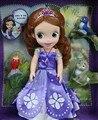 2015 горячая принцесса София с друзей животных игрушки куклы София первый подарок для девушки подарок на день рождения