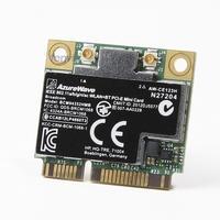BroadCom BCM4352 BCM94352HMB Half Mini PCIe PCI Express Wireless WIFI WLAN BT Bluetooth Card 802 11AC