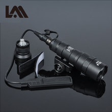 Lambul Tactical M300 M300B MINI Scout Light Outdoor Rifle Hunting Flashlight 400 lumen Weapon Light LED Lanterna Fit 20mm Rail