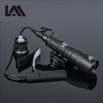 Tactical M300 M300B MINI Scout Light Outdoor Rifle Hunting Flashlight  military  Weapon Light LED Arme Lanterna Fit 20mm Rail