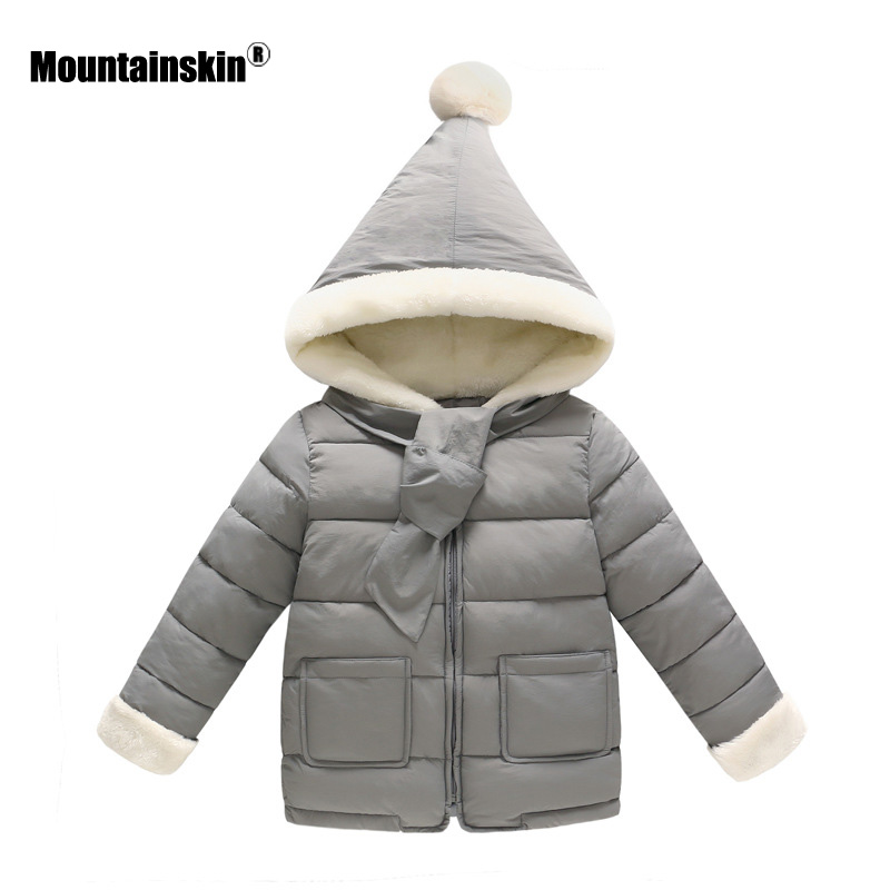 Mountainskin 2017 Winter Autumn Girls Boys Jacket Warm Thick Hooded Coats Children Clothing Kids Thermal Outwear 5-13T SC898 mountainskin 2017 winter autumn spring baby boys girl sweater kids rompers children suit cardigan thick warm outwear 0 24m sc895