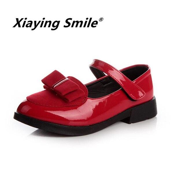 Zapatos de las muchachas, mocasines zapatos pequeña princesa dulce, moda casual.