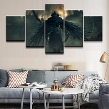 Canvas Poster Wall Art Home Decor Framework 5 Pieces Game Bloodborne Paintings For Living Room HD Prints Modular Pictures
