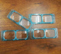 1.5X,2.0X,2.5X,3.5X Multi Power Optivisor Watch Repair Eye Magnifying Glass Lens 4PCS Head Band Magnifier lenses