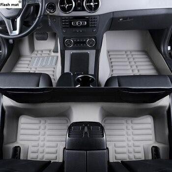 Flash mat car floor mats for MG All Models GT MG5 MG6 MG7 mg3 SW mgtf TF ZR ZT ZT-T car accessories car styling carpet