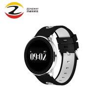 2017 CF007 Sport Étanche Bracelet À Puce Bluetooth Smartwatch Dynamique La Pression Artérielle Moniteur de Fréquence Cardiaque Podomètre Bracelet