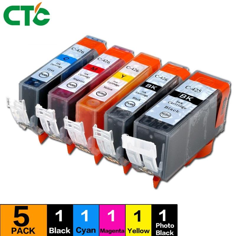 PGI-425 CLI-426 for canon pgi425 cli426 Ink Cartridge Compitalbe For Canon mg5240 mg5140 ip4840 ip4940 ix6540 mg5340 Printer