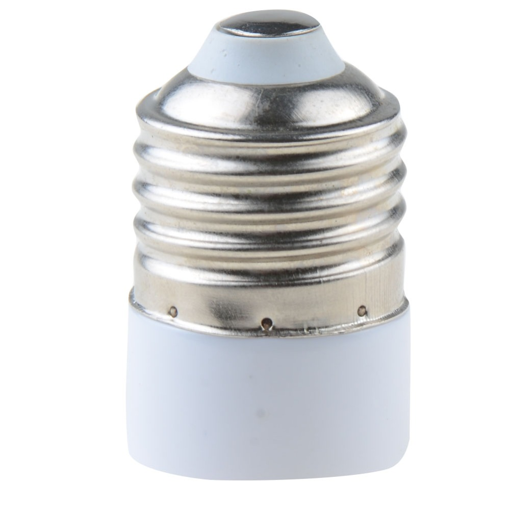 1pcs e27 male to mr16 g4 female led halogen cfl light bulb base lamp socket adapter