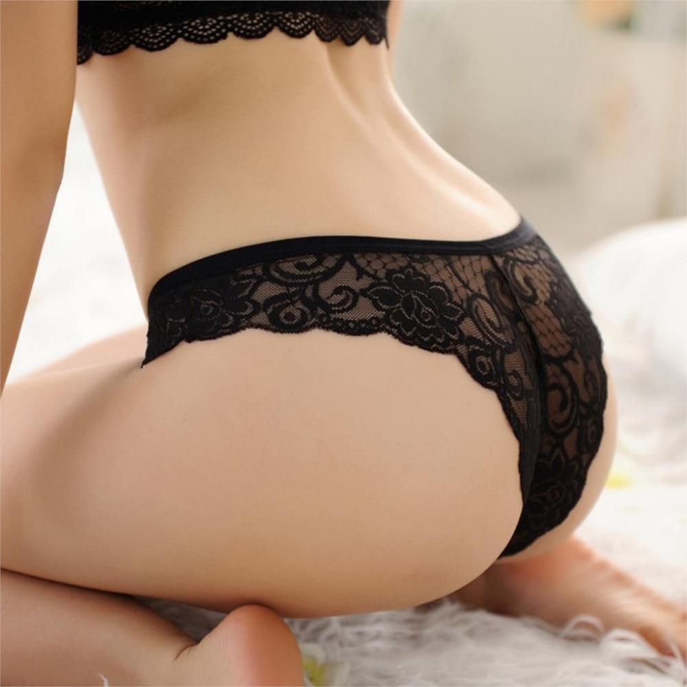 5cdb5163cec 6PCS/LOT Sexy Lace Women Underwear Girl Thongs Lady Panties Breathable  Lingerie Underwear String Brazilian Briefs Tanga H051
