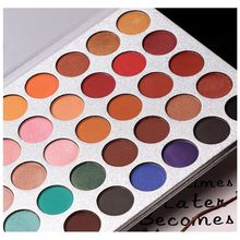 Beauty Glazed women Fashion 35 colors eyeshadow palette Pigmented Matte beauty makeup shimmer Natural Sexy