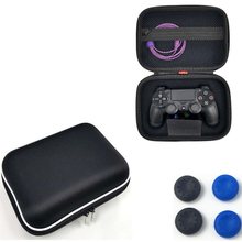 PS4 耐震ポケット保護旅行コントローラバッグプレイステーション 4 スリム · プロコントローラーゲームパッドシェルグリップ