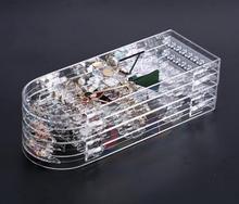 Jewelry Organizer Plastics Earring Storage Doors