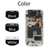 """Sinbeda AMOLED Mobile Phone 4.3"""" Display For Samsung Galaxy S4 Mini i9190 i9192 i9195 LCD Touch Screen Digitizer Assembly Frame"""