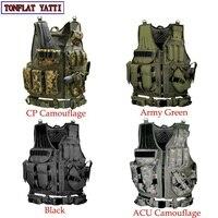 2017 New Colete tatico loja artigos militares airsoft tactical vest Leapers Law Enforcement molle Tactical Vest SWAT schutzweste