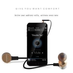 Image 4 - Awei ES Q6 filo In Ear auricolare 3.5mm Jack cuffie Super Bass cuffie con microfono auricolari cuffie auricolari Kulaklk