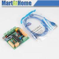 Freeshipping USB CNCUSB 4 Axis CNC Controller Interface Board USBCNC 2.1 MK1 For engraving maching #SM535 @CF