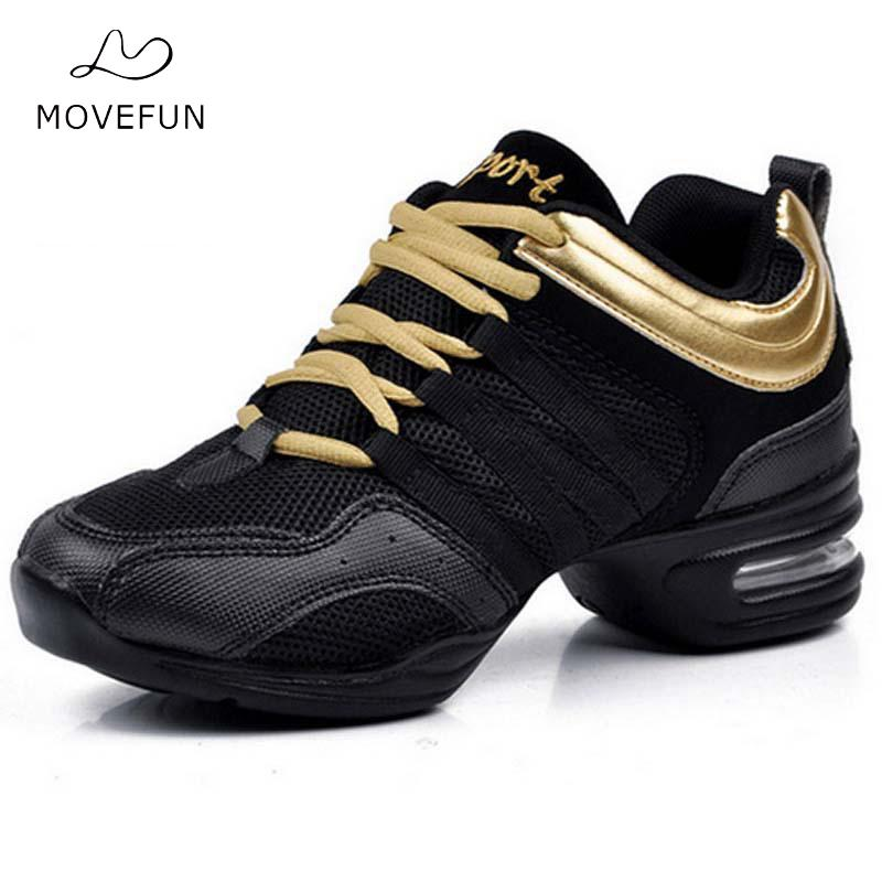 Dansesko for kvinner Jazz Sneaker Nye Dance Sneakers for Women Modern Street Dance Shoes