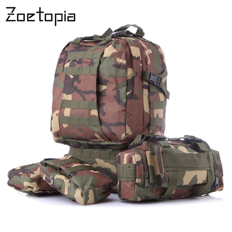 50L Molle font b Tactical b font Assault Outdoor Military Rucksacks font b Backpack b font