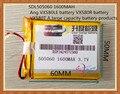 Frete grátis pita505060 onda vx580le vx580r vx580t bateria bateria de grande capacidade 3.7 v bateria de polímero de lítio de navegação gps