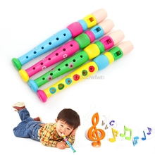 Kid Piccolo Musical Instrument Early Learning Educational Toy For Children HC6U Drop shipping