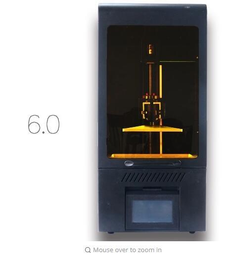 Bijoux dentiste imprimante UV Résine SLA/DLP 3D Imprimante avec écran tactile LCD photopolymérisable