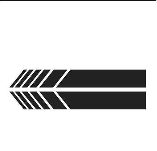 2 Pcs Sisi Kaca Spion Stiker Dekorasi Sisi Cermin Dekorasi Mobil Stiker untuk Mercedes Benz AMG CLK CLS CLA Kelas w205 W212