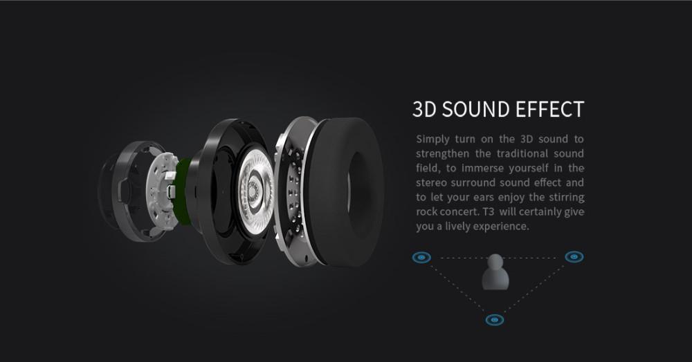 T3 wireless bluetooth bluedio słuchawki/słuchawki z bluetooth 4.1 stereo i mikrofon dla muzyki słuchawki bezprzewodowe 5