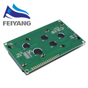 Image 2 - 10pcs 20x4 LCD Modules 2004 LCD Module with LED Blue Backlight White Character/Yellow green