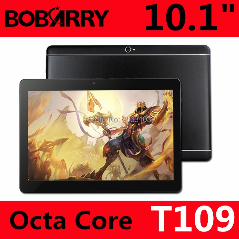 New 3G 4G LTE BOBARRY 10 1 inch Ram 4GB Rom 128GB Octa Core MT8752 Android