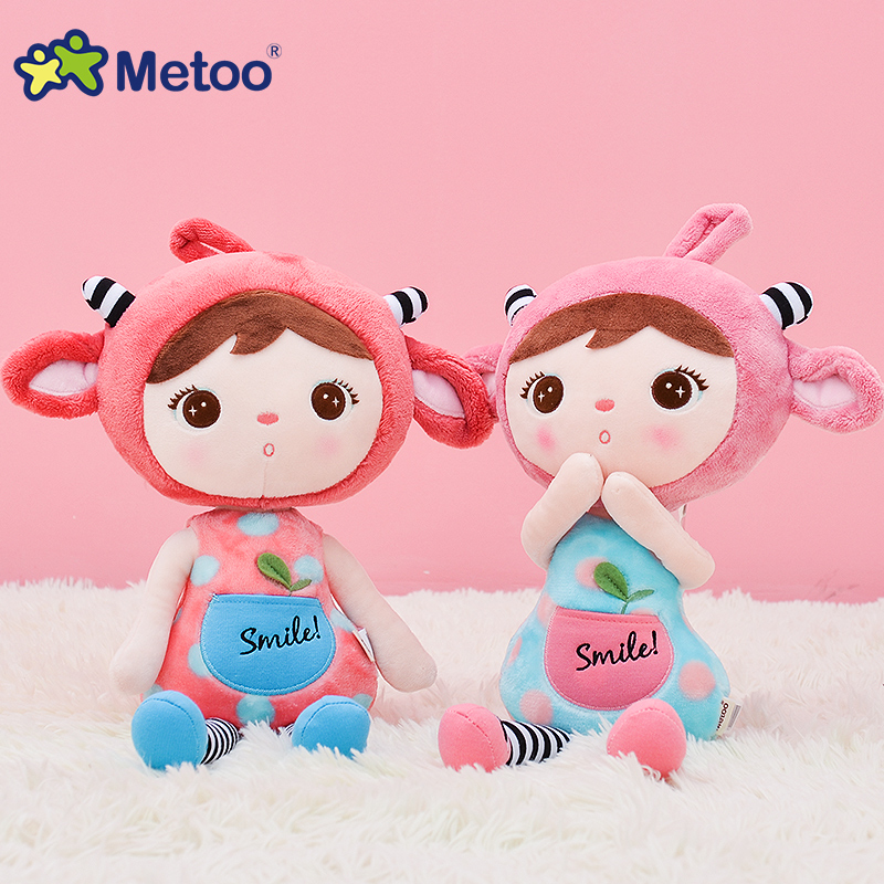 65cm Plush Sweet Cute Lovely Stuffed Baby Kids Toys for Girls Birthday Christmas Gift Cute Girl Keppel Baby Doll Metoo Doll 8 inch plush cute lovely stuffed baby kids toys for girls birthday christmas gift tortoise cushion pillow metoo doll