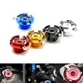 M20*2.5  new motorcycle CNC aluminum modified oil cap / oil needle dirt bike Filler Cover Screw for honda ducati 5 colors