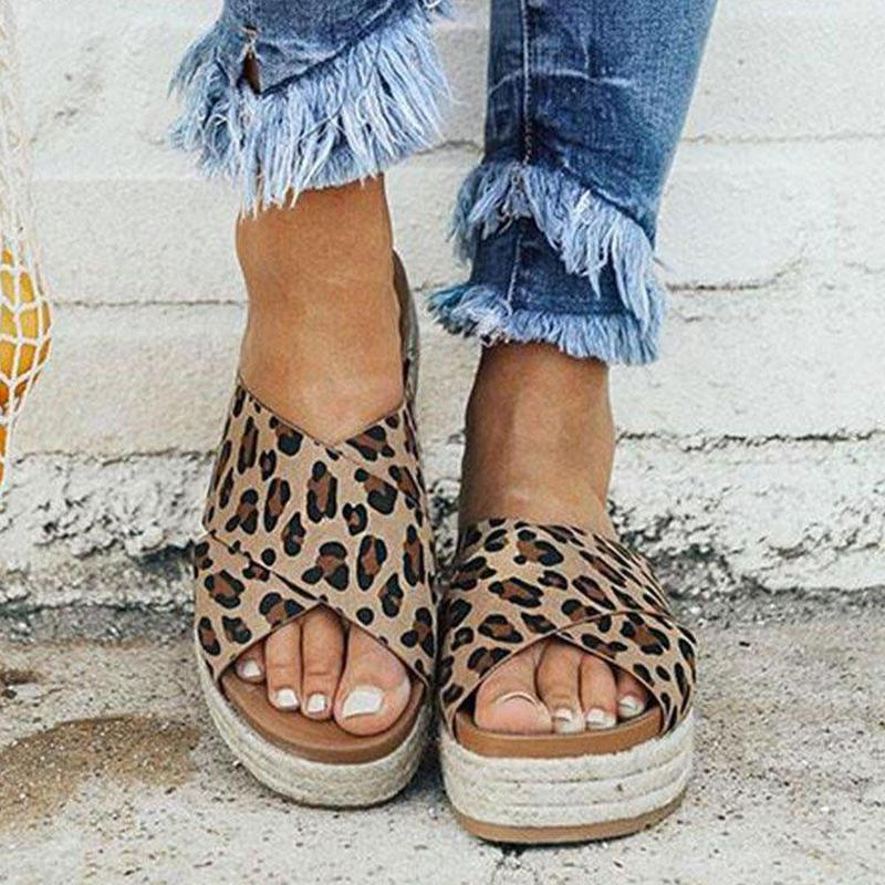 Sexy Sandals Platform Flip-Flops Casual-Shoes Women Slippers Open-Toe Female Summer Beach