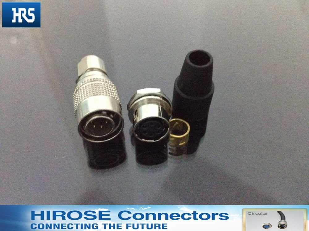 HIROSE 6 pin connector, HR10A-7P-6P(73) / HR10A-7R-6S(73) Female Cross 6 pins Hirose camera miniature Connector connector hr10a 7p 6p 73