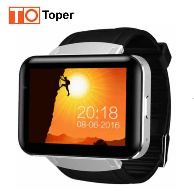 DM98 Bluetooth Smart Watch Phone MTK6572 Smartwatch Наручные Часы с 2 Г/3 Г SIM Камеры Android OS 5.1 Часы 900 мАч GPS Wifi На Складе