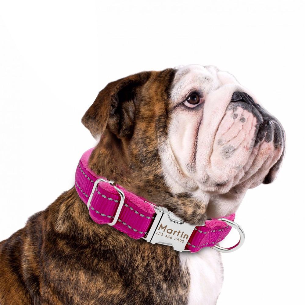 HTB1kf.RnMZC2uNjSZFnq6yxZpXaa - Halsband hond met naam en telefoonnummer nylonmet riem