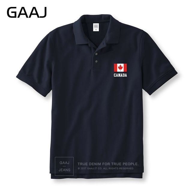 Canada Flag Polo Shirts Men & Women Unisex Shirt New North American Solid Man Polos Brand Clothing Homme Summer Brand-Clothing