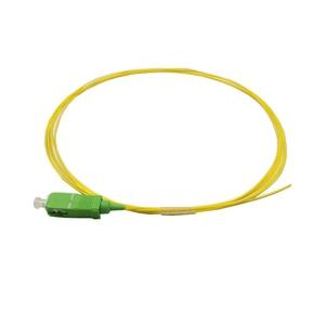 Image 1 - 10 pièces haute qualité 1 m SC APC monomode fibre optique pigtail 0.9 MM fibre jumpers FTTH fibre optique câble livraison gratuite