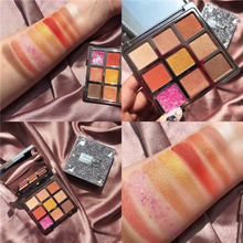 Brand DiamondShiny MakeupPalette 9 Color Eyeshadow Palette Shimmer Glitter Matte Pallete Pigmented Smoky Nude Cosmetic