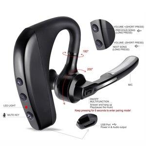 Image 3 - 最新 K10 ワイヤレス bluetooth イヤホンノイズリダクションヘッドフォン bluetooth ヘッドセットとスマートフォン用のマイク