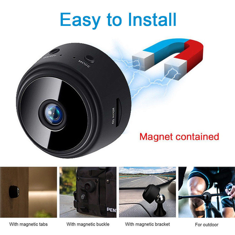 Portable hooded side HD 1080P wifi Camera Mini sports DV DVR For IOS Android