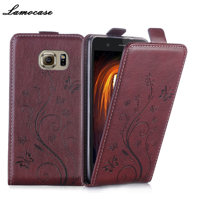 For Samsung Galaxy S6 Case Luxury Flip Leather Cover For Samsung Galaxy S6 SS Duos G920F G9200 SM-G920F SM-G920FD Pouch Bags