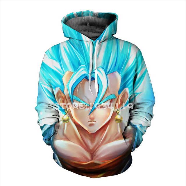 Dragon Ball 3D Printed Hoodie #2 (7 Models)