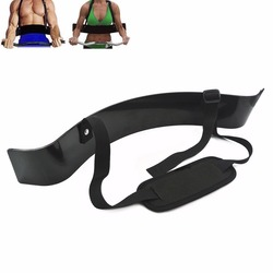Weightlifting Arm Blaster Adjustable Aluminum Bodybuilding Bomber Bicep Curl Triceps Muscle Training Fitness Gym Equipment