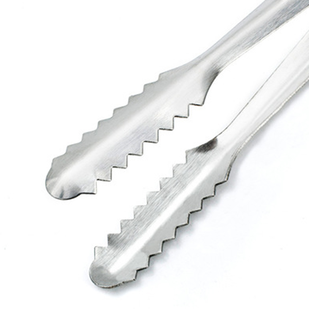 1pcs Good Quality Bbq tool stainless steel barbecue clip food clip ice tongs bread clip menu folder Kitchen tools