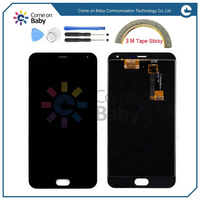 100 Tested OK LCD Screen Display Touch Digitizer For 5 5 Meizu M2 Note Meilan Note2