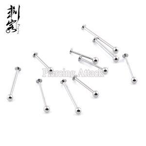 Image 4 - 316L Chirurgisch Staal Cheek Piercing Labret Unieke Labret Sieraden Lot Van 100 Stuks Body Jewelry