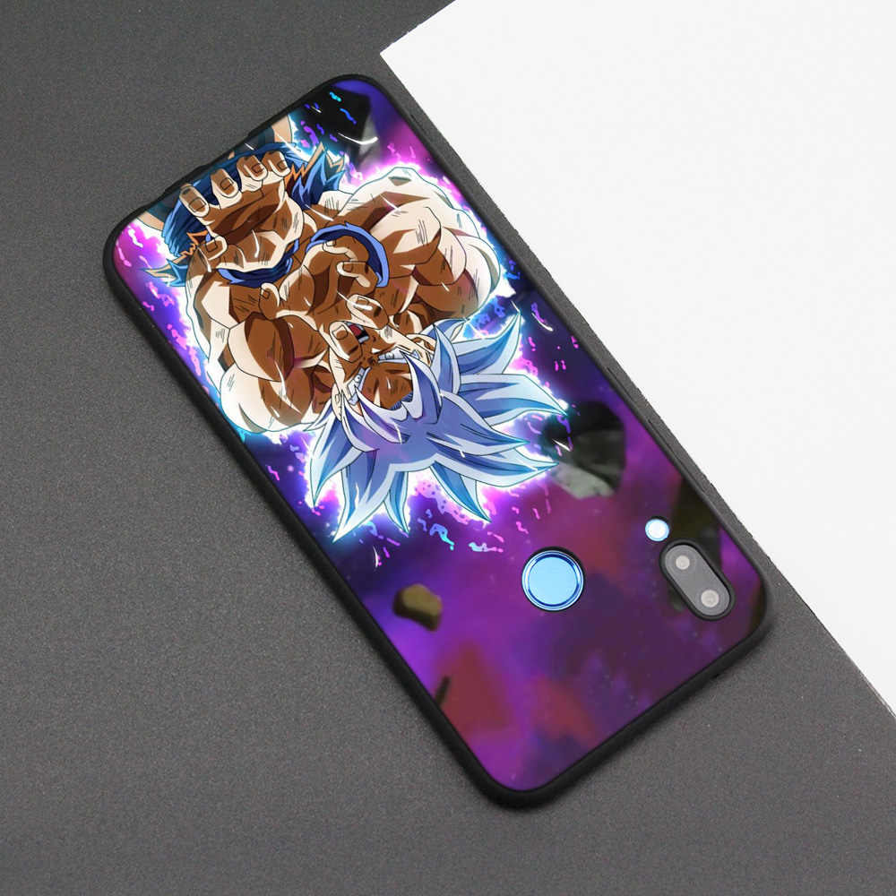 Silicone Case Cover for Huawei P20 P10 P9 P8 Lite Pro 2017 P Smart+ 2019 Nova 3i 3E Phone Cases Dragon Ball DragonBall goku